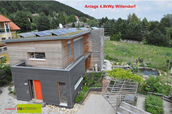 Anlage 4,8 kWp Willendorf